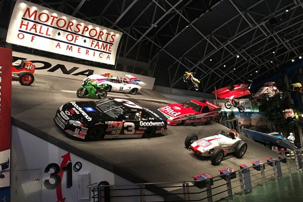 Motorsports Hall of Fame of America - Murphy Lighting Systems -