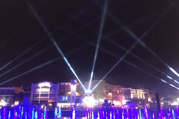 Theme-Parks-Lighting by Murphy lighting systems- Castle Show